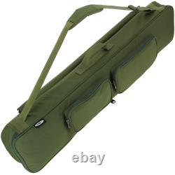 2 x Fishing Set Kit Rods + Reels Travel Tackle Bag Floats Shot Hooks Travel 6ft