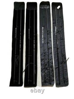 3 Nash Scope Rods 10ft 3.5 + 1 Nash Dwarf Rod 10ft 4.5 Spod Rod