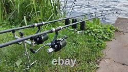 3 x Greys AirCurve GRAC020 12ft 3.5lb Carp Rod with Abbreviated Rubber Handle