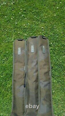 3 x Sonik Xtractor 10ft 3.5lb retractable + 3 Xtractor Rod Sleeves