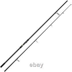 4 X Ngt 10ft 2pc Catfish Cat Fish Rod Black Carbon Fiber Fishing Tackle