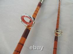 8ft Fosters Of Ashbourne The Ideal Split Cane Spinning / Casting Fishing Rod