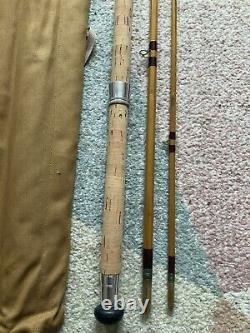Andrew Davis Mk4 Carp Deluxe Three Piece Split Cane Fishing Rod