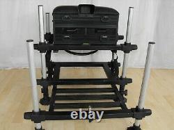 COLMIC THUNDER / HURRICANE SEATBOX & PLATFORM match carp pole fishing setup