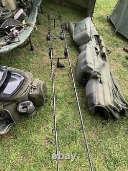 Carp fishing 2 Rod Set Up