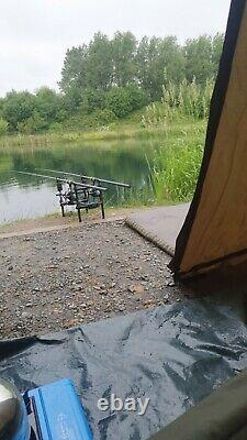 Carp fishing full set up