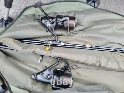 Carp fishing tackle full set up 2 rod