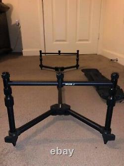 Carp set up 3 Rod Set Up Rods Reels Bivvy