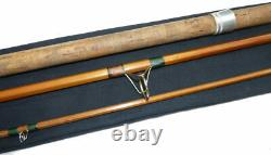 Chapman of Ware Mk4 Carp 550 split cane vintage fishing rod to use or collect