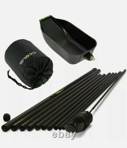 Corus 18m Long Reach Baiting Pole. Includes Float And Spoon. Used for 1 day