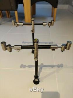 Custom Angling Solutions Titanium Pod Carp Rod Pod solar worldwide pod Jag korda