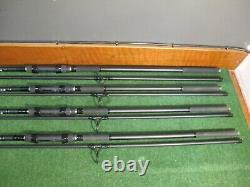 Daiwa black widow 12 ft 3 lb tc x 3 + matching spod rod used carp fishing rods