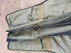 Diawa Powermesh carp rods x3, Nash Duo spod/marker rod, trakker holdall