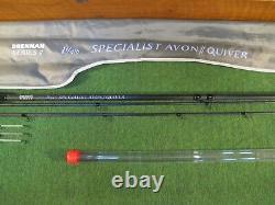 Drennan series 7 12 ft specialist avon quiver 1 1/4 lb tc twin tip barbel rod 2
