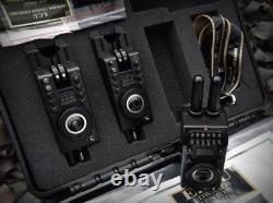 Edwards Custom Upgrades Mk 1 R Compact 2 Rod Bite Alarm Set NEW Carp Fishing ECU