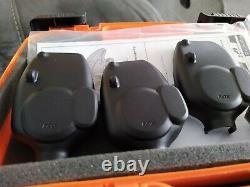 FOX MICRON MR+3 Rod Presentation Set +Receiver New Mint Bite Alarms Carp Fishing