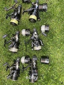Fox Carp Fishing Rods & Shimano Reels- Full Set of Rods & Reels 6 Rods & 6 Reels