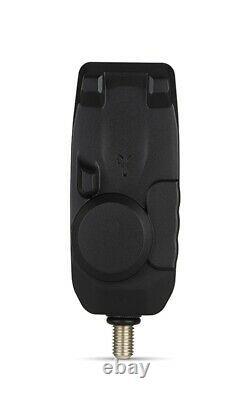 Fox Mini Micron X 2 Rod Set NEW Carp Fishing Bite Alarms Set of 2 + Receiver