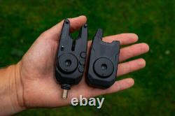 Fox Mini Micron X 3 Rod Bite Alarm & Receiver Set FREE BATTERIES
