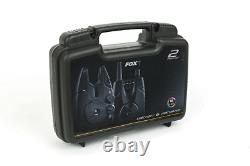 Fox NEW Micron MX 2 Rod Alarm & Receiver Box Set FREE BATTERIES CEI191