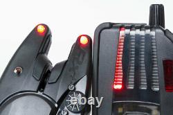 Fox RX+ CEI157 3-Rod Presentation Set bite alarms carp fishing