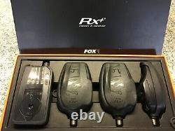 Fox RX+ Plus 3-Rod bite alarms