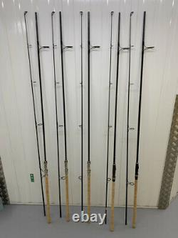 Free Spirit E Class Gold Carp Rods x 3 12ft 3.5lb (50mm) Spomb Rod Searcher Rod