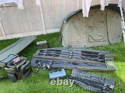 Full Carp Setup 4 Reels Shimano, 5 Rods Greys Apex 50 bargain