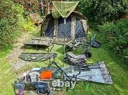 Full carp fishing set up