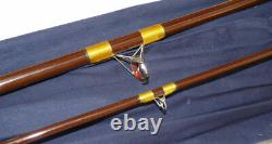 Hardy Richard Walker Carp, 10' hollow glass vintage classic fishing rod with