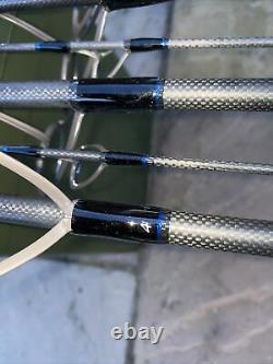 Harrison Aviator 12ft 6ins Custom Built Carp Rods X4 Plus Spod Rod, Carp Set Up