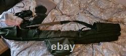 Nash Scope X2 9ft 3lb Cork Plus 2 Rod Scope Bag no reserve carp rods