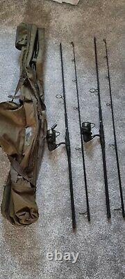 Nash dwarf 10ft rod set up 2.75tc. Stalking. Carp. Fishing