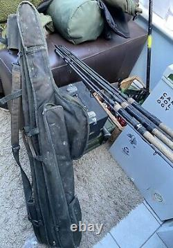 Nash scopes 9ft 3lb Tc X3 With Twin Rod Quiver And Single Rod Sleeve to Suit