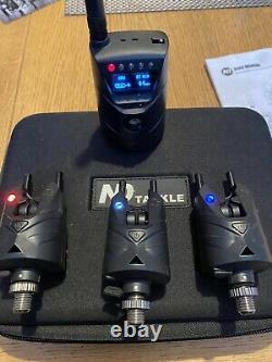New Direction Tackle S9 3-Rod Bite Alarm Set