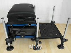 PRESTON SPACE STATION COMPACT SEATBOX match carp pole fishing setup