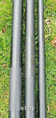 Preston responce XS90 16m pole + 12 top kits cupping kit spares kit cases