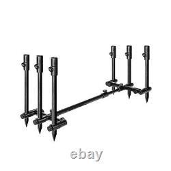 Saber Terrain X Pod 2 / 3 Rod Pod Lightweight Adjustable Carp Fishing Buzz Bar