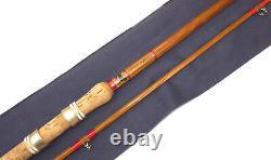 Sharpes Scottie 11 C. C. Carp split cane rod built + retailed by Weavers of