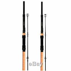 Sonik Xtractor 10ft 3.5lb T. C Cork Handle Carp Rod -Set of 2- New 2019