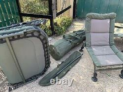 Used carp fishing tackle set up TERRY HEARN RODS