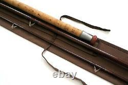 Vintage B. James and Son England float river trotter 11'6'' rod