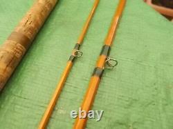 Vintage CHAPMAN of WARE Mk4 Carp 550 split cane Rod Original used #