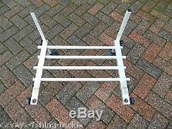 Waterline Seat Box Foot Plate Carp Pole Fishing Tackle Platform Footrest Rest