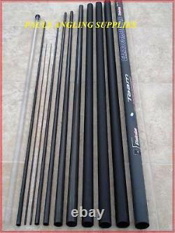 11 M Carp Fishing Pole Shakespeare Mk2 Carbo 8 Elastic Fitted Ready To Fish