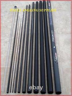 11 M Carpe Fishing Pole Grandeslam Mk2 Carbo Taille 16 Élastique Équipé Prêt À Pêcher