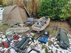 2 Rod Carp Set-up, Delkim, Shimano, Jrc, Trakker