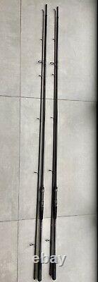 2 X Daiwa Nash Akn Amorphe Whisker Carpe Rod 13ft 2lb 3/4 Dictateur