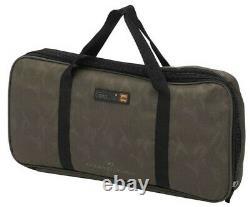 2020 Prologic K3 Carbon 3 Rod Pod System Goal Post Kit+carry Bag Carp Fishing
