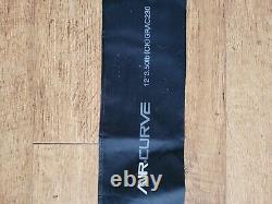 3 X Gris Courbe D'air 12' 3,50lb Poignée De Liège Barre De Carpe